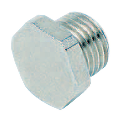 Nickel-Plated Threaded plug compressed air pipe adapters