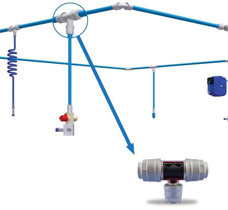 Infinity-Zero-Condensate-Reducing-Tee-System