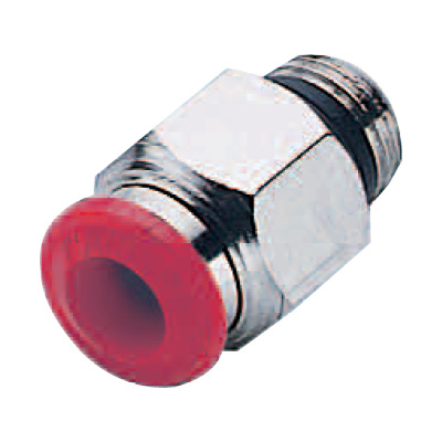 Compressed Air Tube Straight Male Adapter